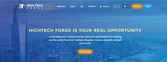 Проект Hightechforex