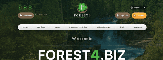 Проект Forest