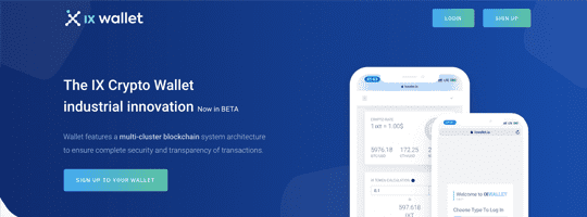 IXwallet Project